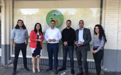 Hoog bezoek voor ons nieuwe Opvang en Re-integratie Centrum (ORC)